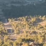 STIPA denuncia el 'agresivocortafuegos' de la línea eléctrica que se ha hecho en Santa Ana