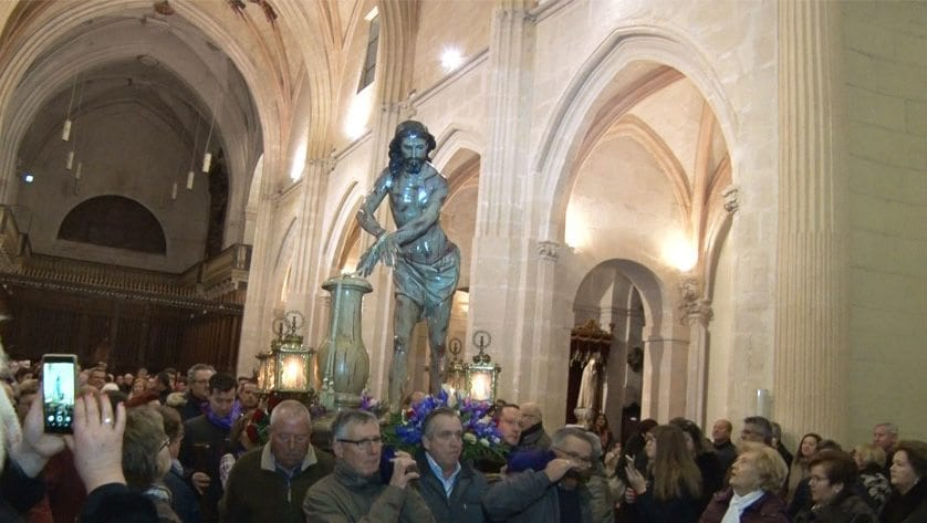 El Cristo Amarrado ya está en Jumilla