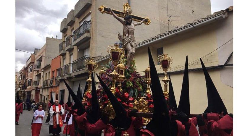 Suspendida la procesión del Calvario por la lluvia