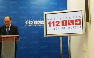 Activado el Plan Territorial de Protección Civil en fase de Preemergencia ante los avisos de previsión de fuertes vientos en la Región de Murcia