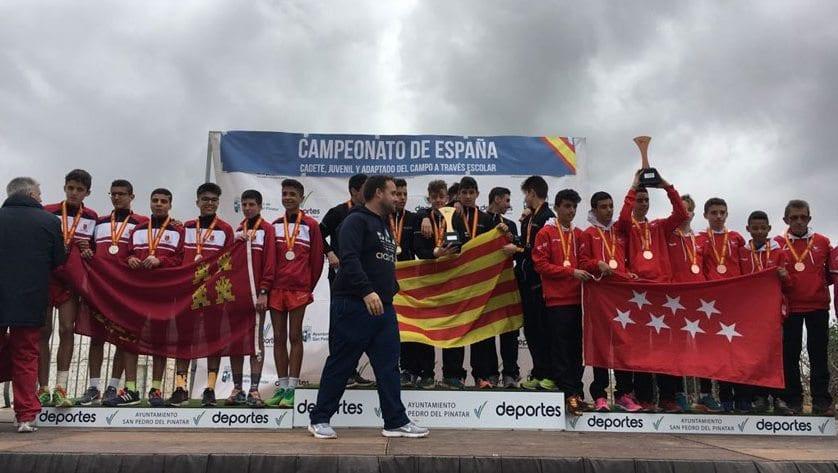 Dos alumnos del IES Infanta Elena se proclaman subcampeones de España de Cross Escolar