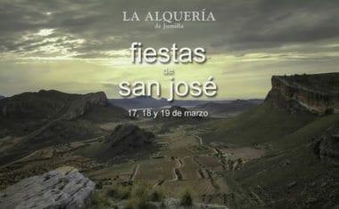 La Alquería celebrará sus fiestas patronales en honor a San José los días 17, 18 y 19 de marzo
