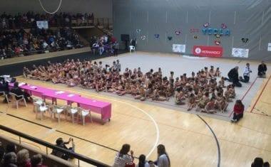 La Escuela de Gimnasia Rítmica de Jumilla estuvo en el Interclubs de Yecla