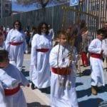 Las primeras procesiones infantiles salen a la calle