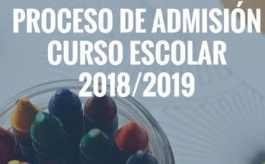 Ha comenzado el proceso de solicitud de plazas en centros educativos para el curso 2018/19
