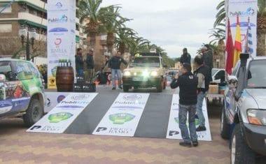 Una treintena de equipos tomaron la salida de la Maroc Challenge Spring 2018 desde Jumilla