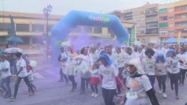 salida de la primera carrera de colores por la igualdad