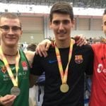 Juan González se proclama sub-campeón de España sub20 en 200 metros lisos