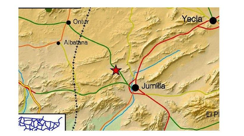 Terremoto en Jumilla