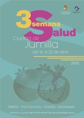 Cartel anunciador de la Semana de Salud de Jumilla