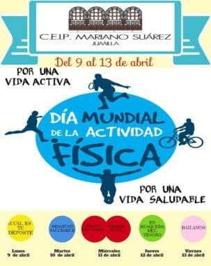 Cartel Dia Mundial Actividad Fisica