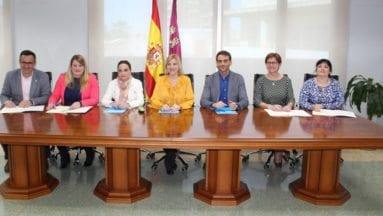 Consejera-Familia-firma-Convenio-SUSI-con-varios-Ayuntamientos-de-la-Región