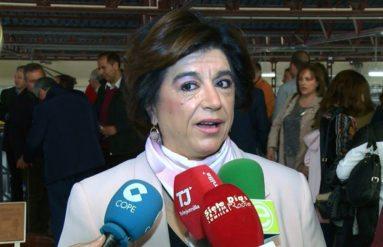 Elisa Jiménez Girón, hermana mayor Cofradía de la Vera Cruz de Caravaca
