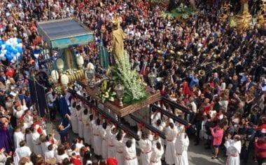 Magnífica Procesión del Resucitado como colofón a la Semana Santa de Jumilla