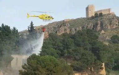 Helicóptero de la Brigada Helitransportada