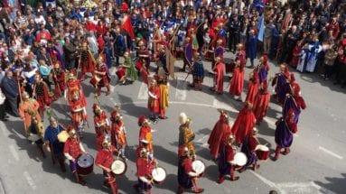 La Danza del Caracol, propia del Domingo de Resurrección en Jumilla