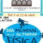 El 'Mariano Suárez' conmemora esta semana el 'Día Mundial de la Actividad Física'