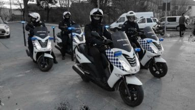 Patrullas motorizadas Policía Local de Jumilla