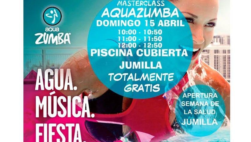 Deporte en la Piscina Cubierta y en el Paseo Lorenzo Guardiola como actos previos a la Semana de la Salud