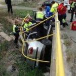 Accidente en la carretera de Fuente Álamo