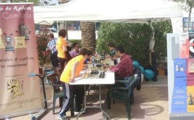 El Club de Ajedrez Coimbra participó en la III Semana de la Salud