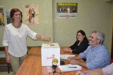 Alcaldesa y secretaria general del PSOE jumillano