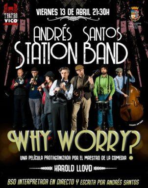 Andres Santos Station Band en el Vico de Jumilla