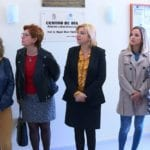 La consejera de Familia visita Jumilla con motivo de la ampliación a 30 plazas la atención a los mayores en el centro de día 'Miguel Marín Padilla'