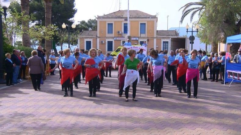 Baile línea Semana Salud Jumilla