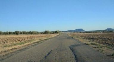 Carretera Jumilla a Albatana