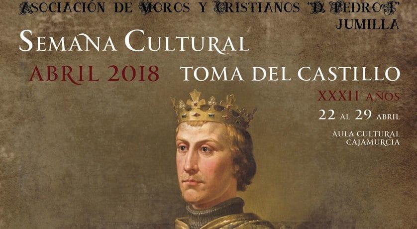 El domingo comienza la Semana Cultural 2018 de la Asociación de Moros y Cristianos Don Pedro I de Jumilla