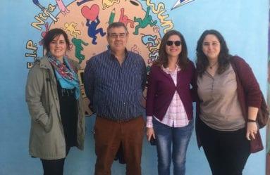 Concejales en Colegio La Asunción