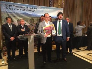 Bodegas Alceño premio Certamen Calidad Vino Jumilla