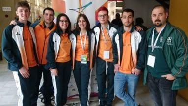 Kiko Piqueras participó con la Universidad de Valencia