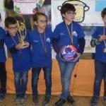 Los más pequeños de la Escuela de Ajedrez Coimbra conquistaron Lorca