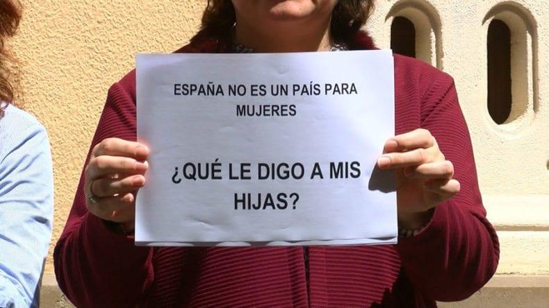 Mensaje concentración Ayuntamiento Jumilla