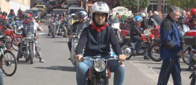 Moto de colección San Fermín