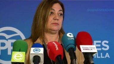 Presidenta PP Jumilla Seve González