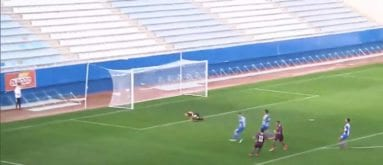 Segundo gol del FC Jumilla al Lorca