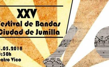 El Teatro Vico acogerá el sábado el 25 Festival de Bandas de Música 'Ciudad de Jumilla'