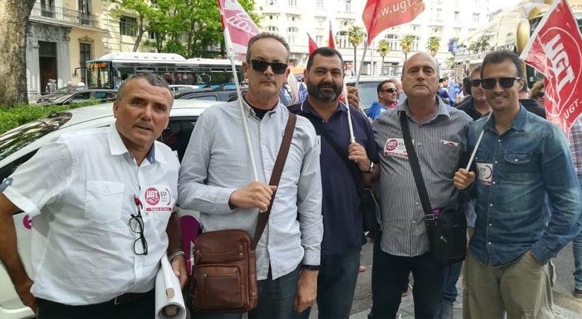 La Policía Local de Jumilla participó en la manifestación de Madrid