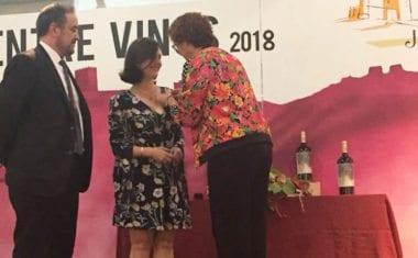 La Asociación Ruta del Vino de Jumilla entrega la primera Insignia de Oro a una mujer