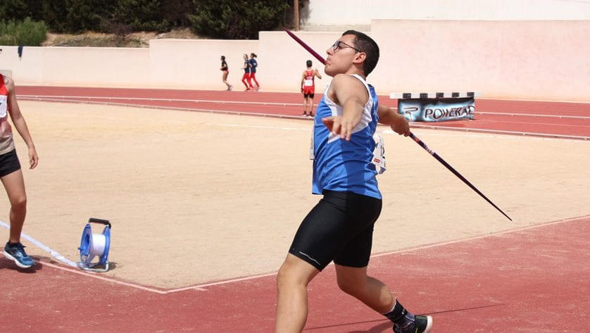 Ángel Moreno estará en el Campeonato de España Sub-16 de lanzamiento de disco