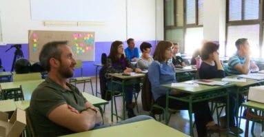 asistentes-curso-desfibrilador-arzobispo-lozano-jumilla