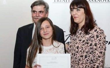 La alumna Carmen Crespo del IES Arzobispo Lozano ha ganado el IV premio literario Fundación Trinitario Casanova
