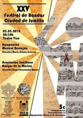 XXV Certamen Bandas Música Ciudad Jumilla