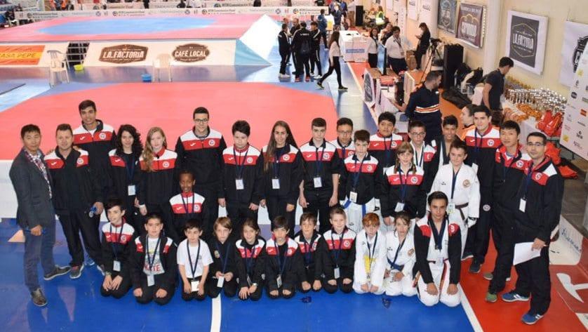 Cinco medallas para el Centro Deportivo Olivares en el regional de Taekwondo de Castilla La Mancha