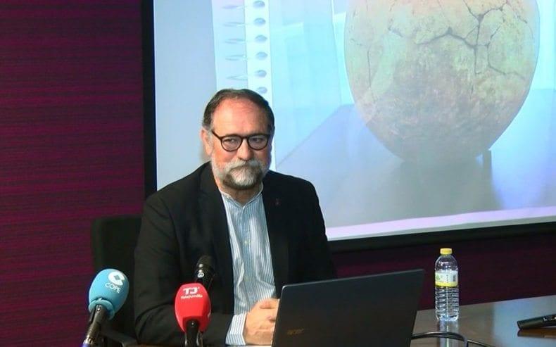 Emiliano Hernández arquéologo jumillano