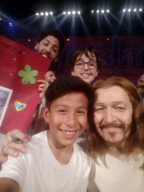 Ted Neeley y homólogo jumillano