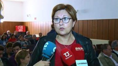 Juana Guardiola secretaria PSOE Jumilla
